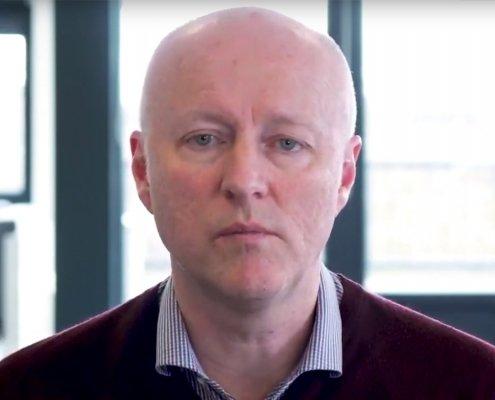 Koen Schreurs, ontwikkelaar van de nieuwe paniekmodule