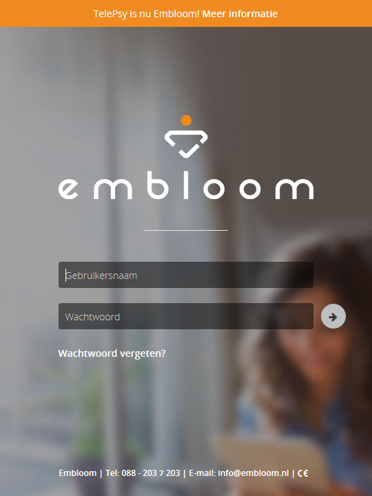 Embloom platform login