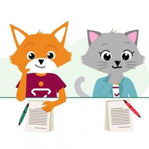 Vic de Vos en Kitty de Kat - Embloom